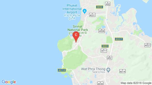 Cocoon Villas location map