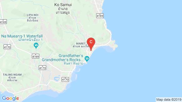แผนที่สถานที่ New Nordic's Koh Samui Lamai Water World