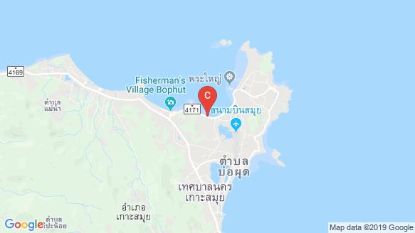แผนที่สถานที่ Anava-Samui Beachfront Villas