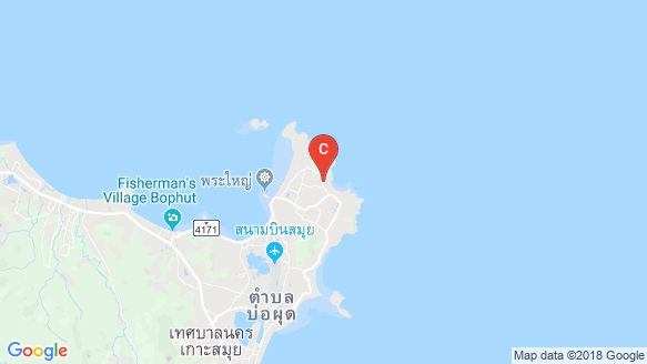 Horizon Villas location map
